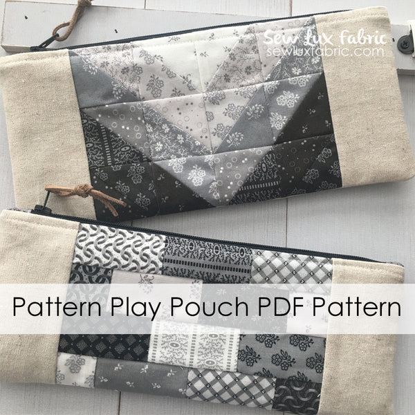 Pattern Play Pouch PDF Pattern