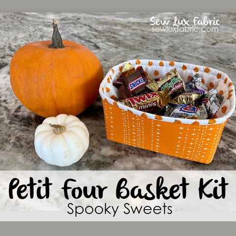 Petit Four Basket Kit - Spooky Sweets