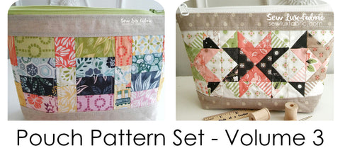 Pouch Pattern Volume 3 - PDF