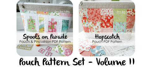 Pouch Pattern Volume 2 - PDF