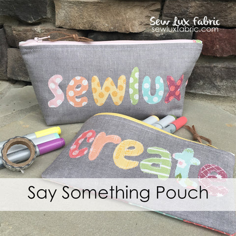 Say Something Pouch Kit