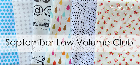 Low Volume Club - September 2016