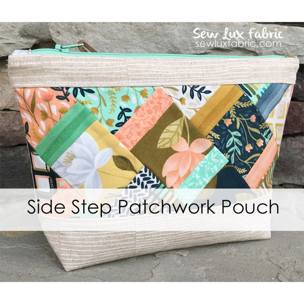 Side Step Patchwork Pouch Kit