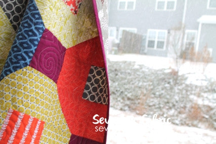 Snow Tires Quilt Pattern Pdf Sew Lux Fabric Sew Lux