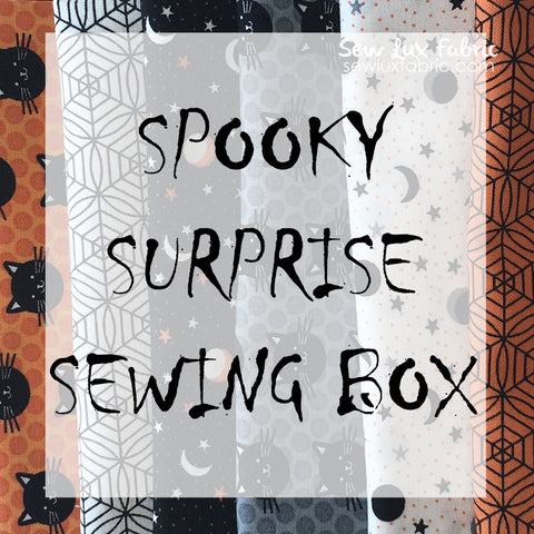 Spooky Surprise Sewing Box - PREORDER