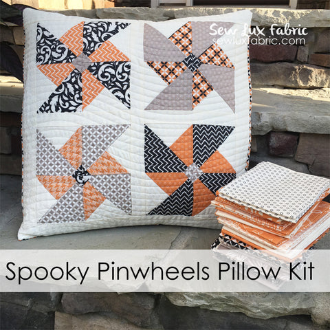 Spooky Pinwheels Pillow Kit