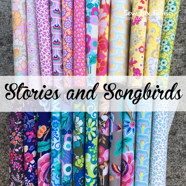 Stories and Songbirds Bundle - Half Yards