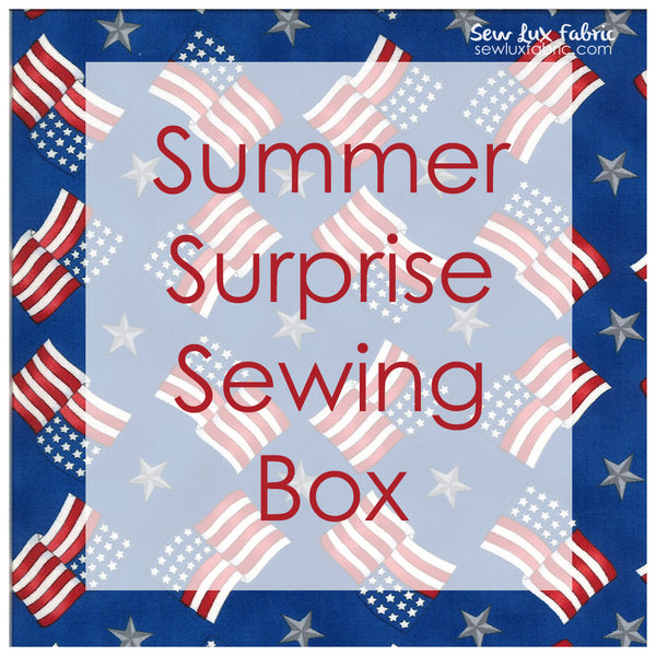 Summer Surprise Sewing Box