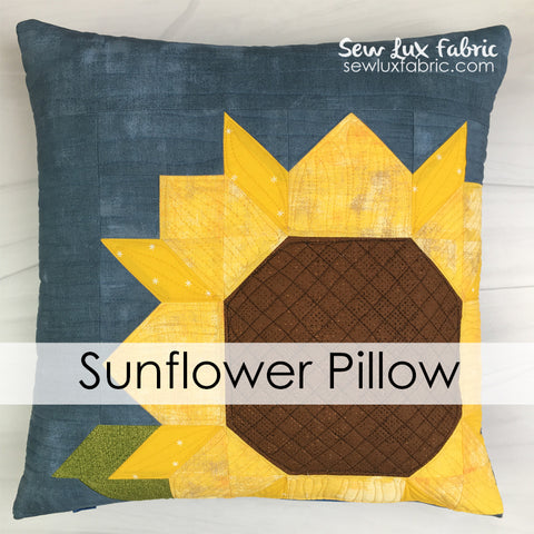 Sunflower Pillow Kit