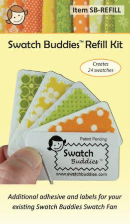 Swatch Buddies Fabric Fan Refills