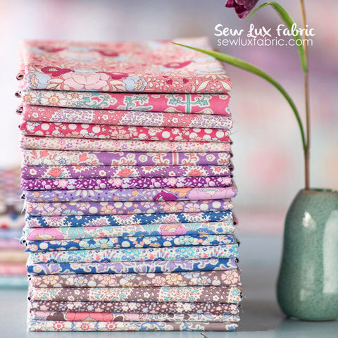 Tilda Plum Garden Fat Quarter Bundle