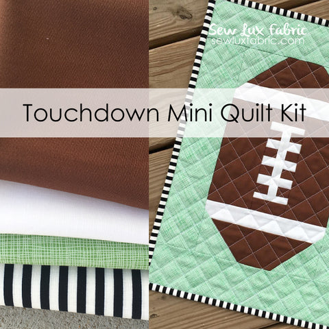 Touchdown Mini Quilt Fabric Kit - Away