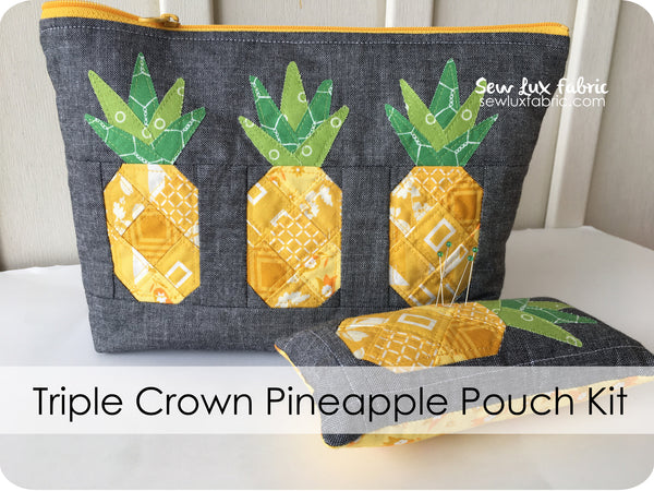 Triple Crown Pineapple Pouch Supply Kit
