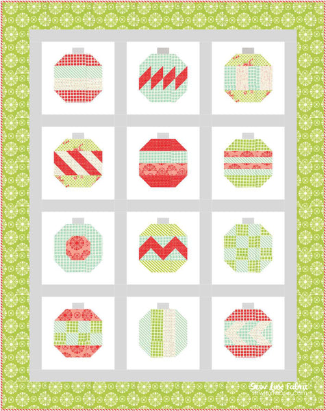 Thimble Blossoms Vintage Holiday Quilt Pattern