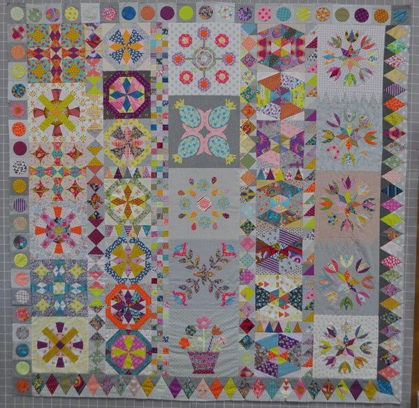 Golden Days Quilt - Complete Pattern and Template Set