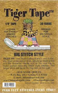 Tiger Tape Big Stitch Style