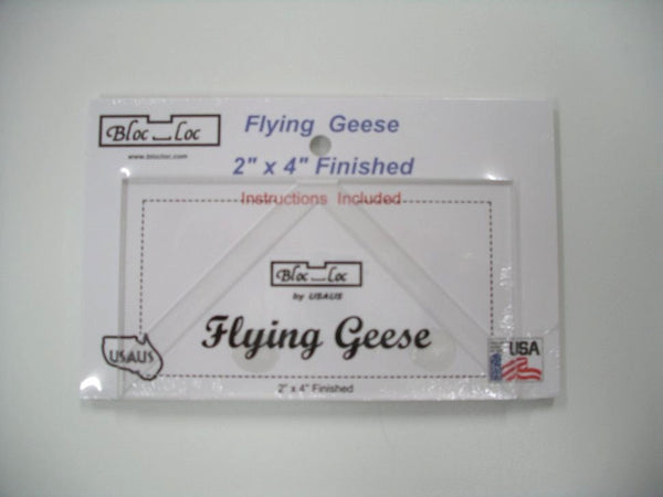 Bloc Loc 2x4 Flying Geese Ruler