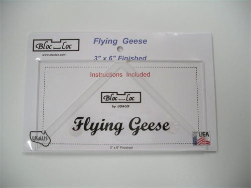 Bloc Loc 3x6 Flying Geese Ruler