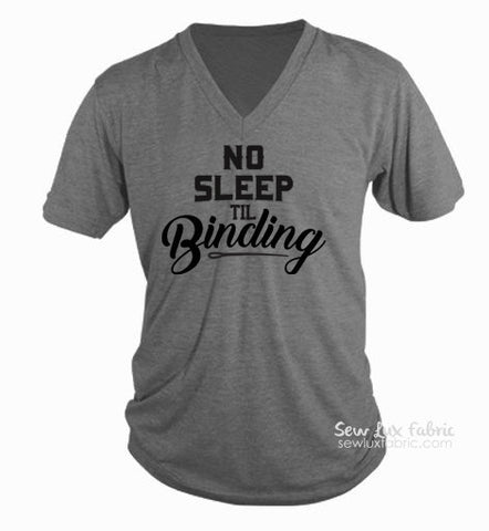 No Sleep Til Binding T-Shirt