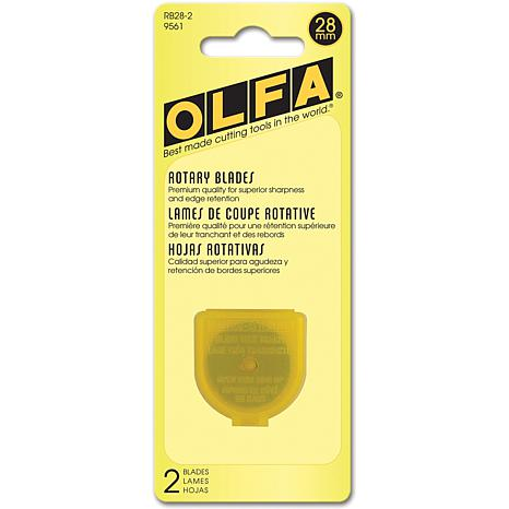 Olfa 28mm Replacement Blade - 2 pack