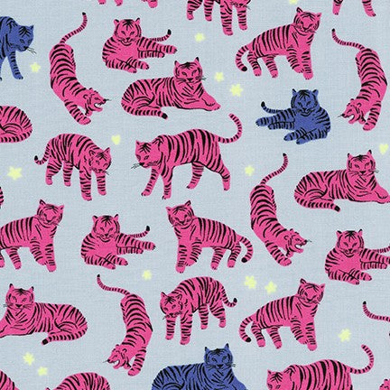 Wild and Free Tigers Hot Pink