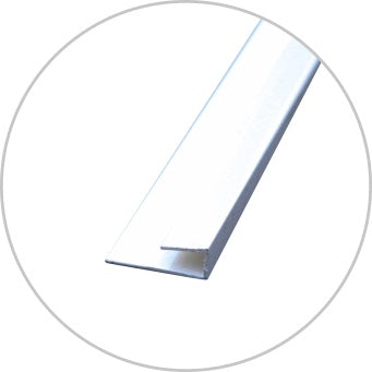 End Cap 2700mm - PVC - Standard
