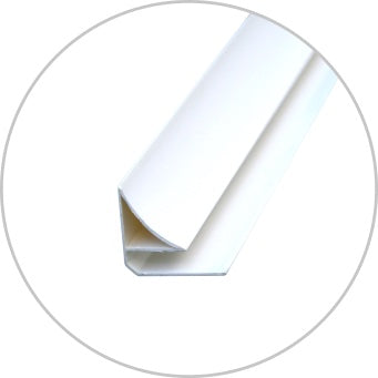 Scotia Moulding 2700mm - PVC - Standard