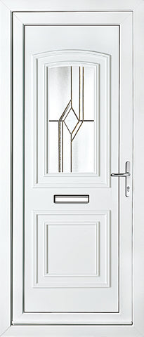 uPVC Door - Balmoral One Astral Diamond Bevel