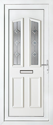 uPVC Door - Kensington Two Astral Diamonds