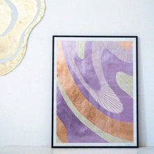 Load image into Gallery viewer, MILKY WAY - LILAC / ROSE GOLD INLAY