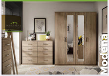 Load image into Gallery viewer, Modena Bedroom Collection - Tuscany Walnut