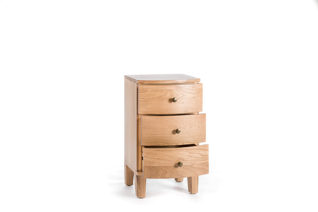 Tiree - 3 Drawer Bedside (PRO110)