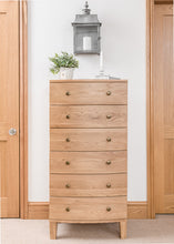 Load image into Gallery viewer, Tiree - 6 Drawer Tallboy (PRO120)