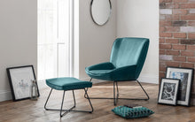 Load image into Gallery viewer, Mila Velvet Chair & Stool