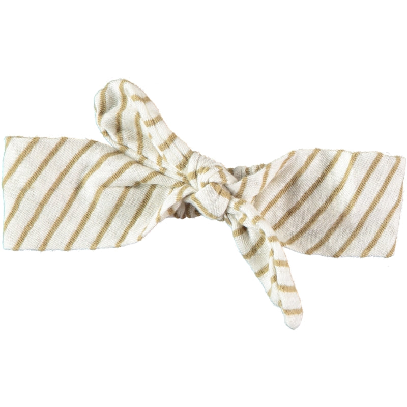 Striped headband camel