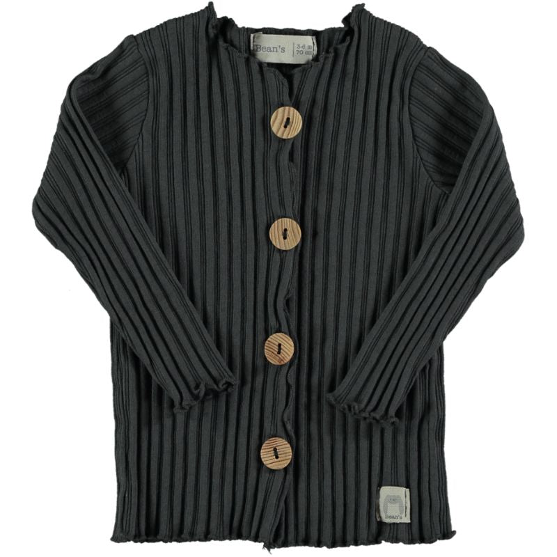 Ribbed Jacket anthracite