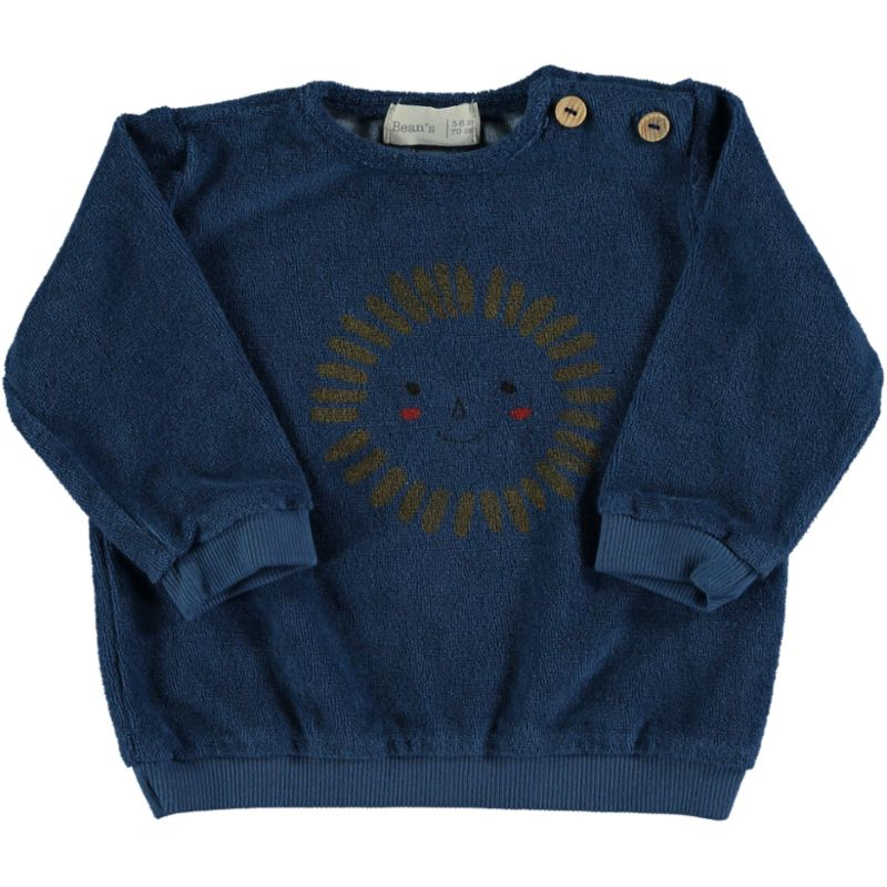 Sun Terry Sweatshirt blue