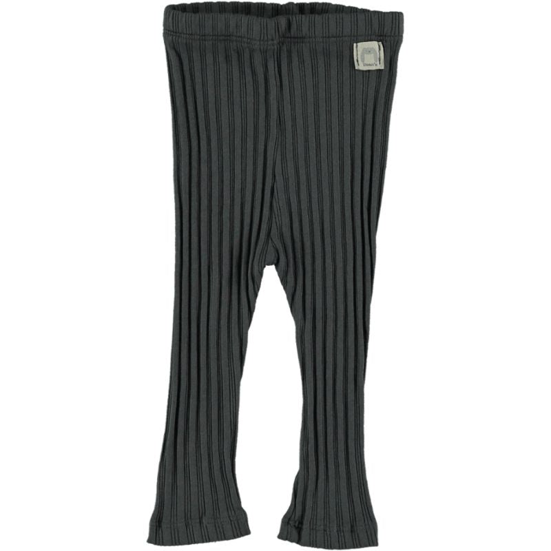Ribbed Leging anthracite