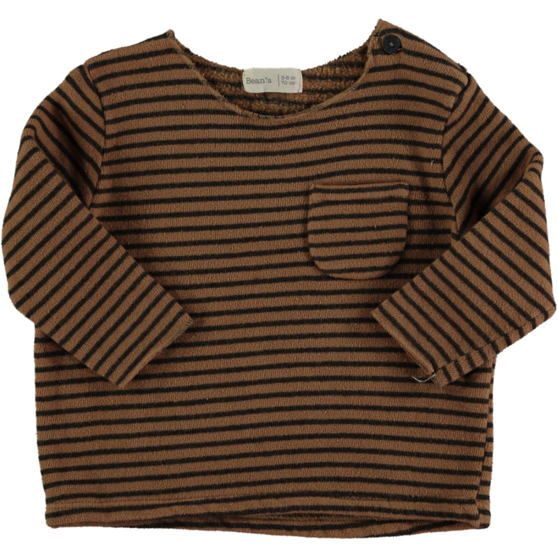 Striped sweater Caramel