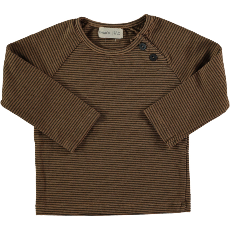 Striped T-shirt Caramel