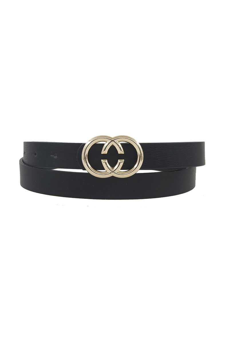 Center Cut Double Loop Standard Belt