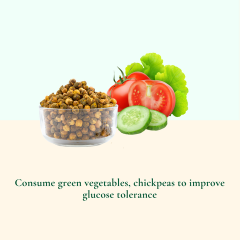 Consumption of green vegetables
