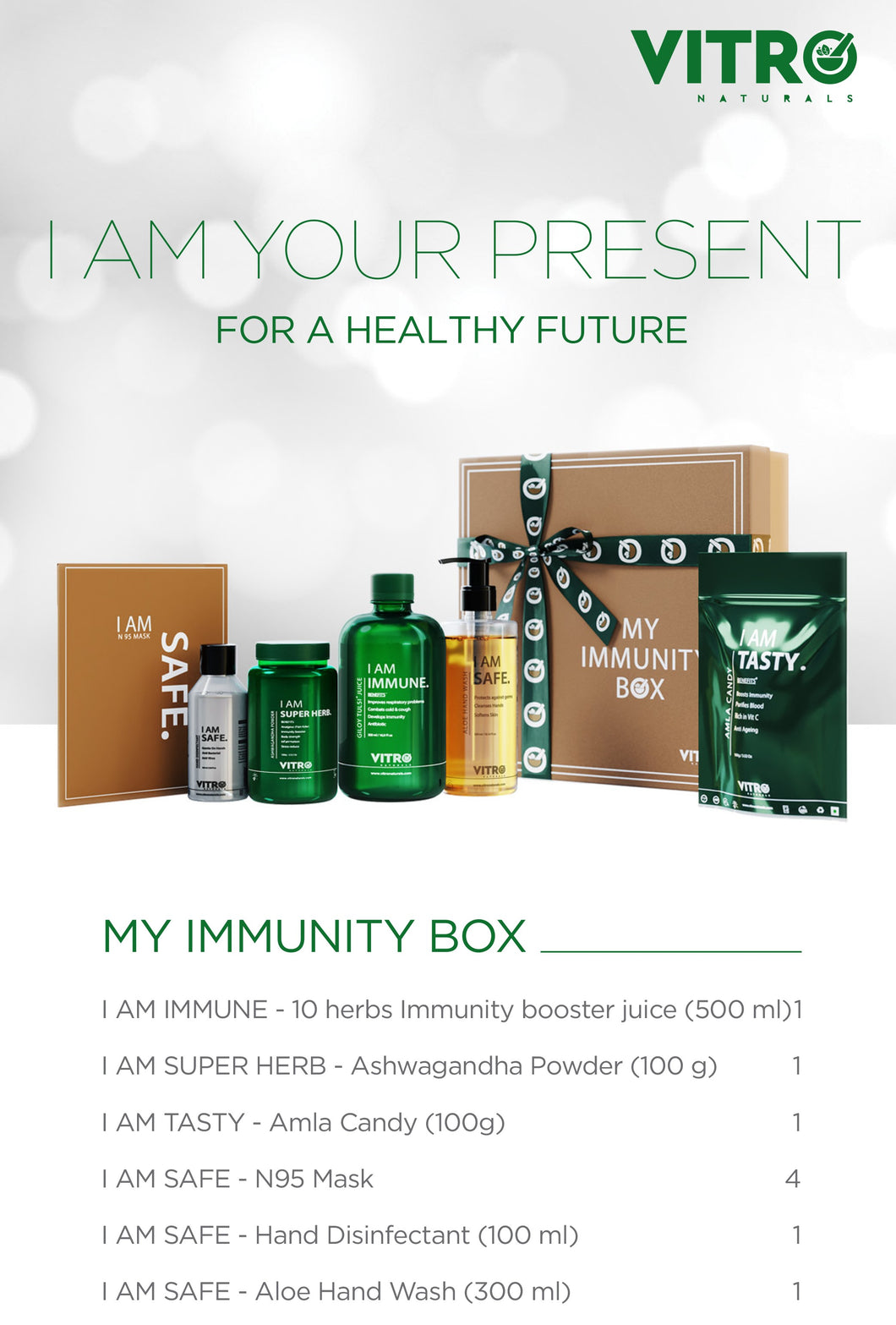 MY IMMUNITY BOX - I AM YOUR PRESENT