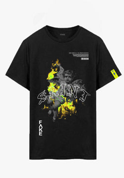 FΛKE SAINT - BLACK | LIME