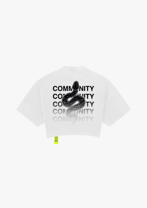 COMMUNITY - WHITE CROPTEE