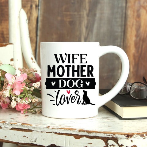 We even have a dog mom mug, go take a look. My coffee mugs are made in the usa!