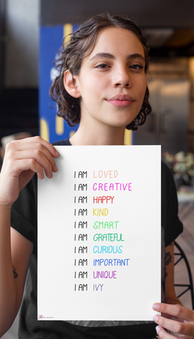 Personalized Custom Positive Affirmations