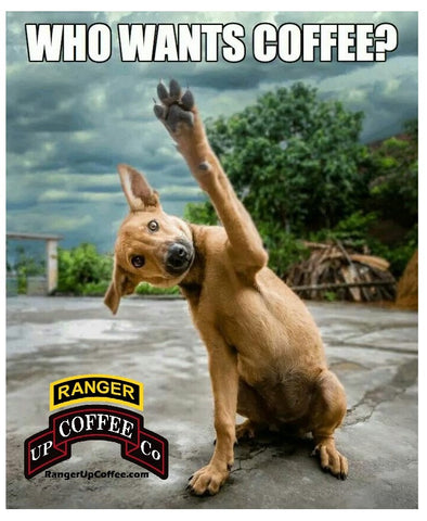 Ranger Up Coffee Co Meme