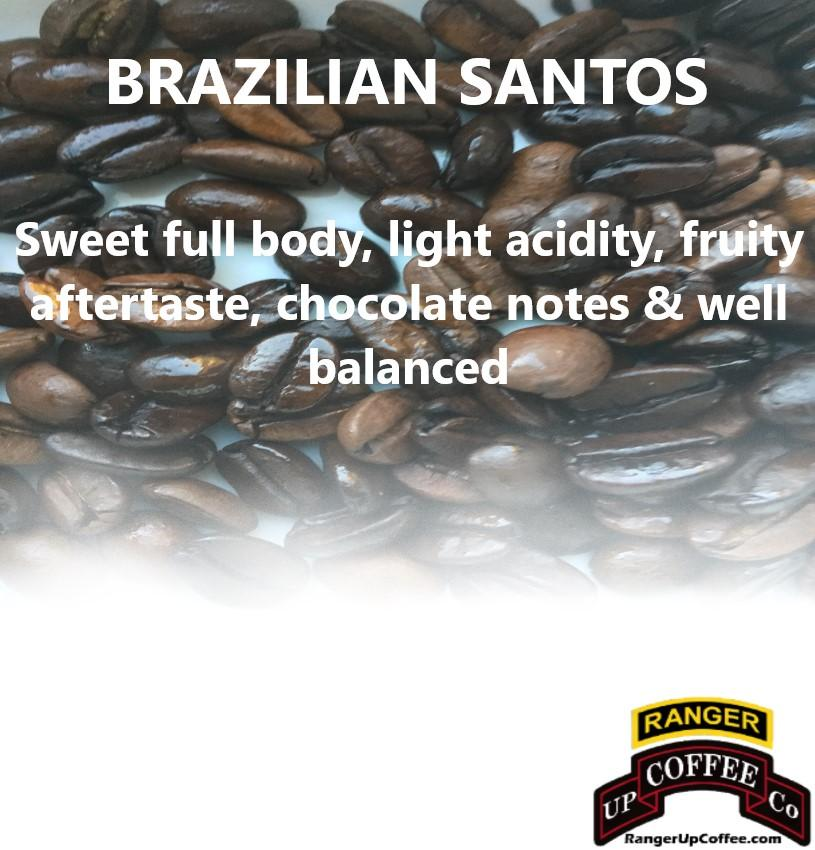 Brazilian Santos Coffee Ranger Up Coffee
