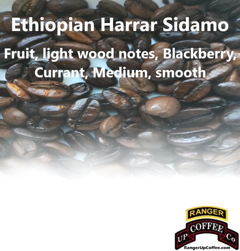 Ethiopian Harrar Sidamo Coffee Ranger Up Coffee